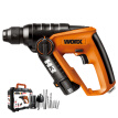 WORX 12V light lithium electric hammer double electric version WX382.10 home multi-function impact drill electric drill hardware electric tool set