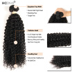 Good Quality 3 Pcs / Lot Kinky Curly Malaysian Virgin Human Hair Weaving Natural Black Afro Kinky Cur Weaves HCDIVA Hair Products