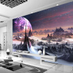 Custom Photo Wallpaper 3D Stereo Universe Stars Wall Painting Art Mural Living Room Sofa Bedroom TV Backdrop 3D Mural Wallpaper