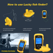 Lucky ffcw1108-1 Wireless Working Range 120m Drinking Sonar Sensor Deeper Fishing Anglers Color LCD Display for Fishing