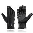 ROCKBROS Bike Gloves Winter Thermal Windproof Warm Full Finger Cycling Glove Anti-slip Bike Bicycle Gloves for Man Woman