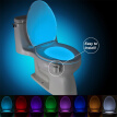 8 Colors Human Motion Sensor Toilet Light Bathroom Night Light Home Decoration
