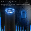 Outdoor Bluetooth Speaker Waterproof 5200mAh Power Bank Bicycle Portable FM Radio Subwoofer Bass Speaker LED light Bike Mount