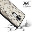 Genuine Leather Phone Case For HUAWEI Mate 9 Case Natural Python Skin For P10 Honor 9 V9 Back Cover