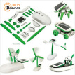 Boguang Solar DIY toys 6 in 1 Multi-modality free transformation with solar power for Early Childhood Education science experime