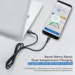 VIPFAN USB C Cable Nylon Braided USB C to USB A Charger Cord (USB 2.0) for Samsung Note8, Galaxy S8,Apple New Macbook, Nexus 6P 5X