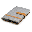 "BEFOSPEY Mixed Colors Denim PU Leather+Soft TPU Card Slot Stand Wallet Case For Sony Xperia L2(5.5"")(2018)"
