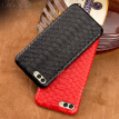 Genuine Leather Phone Case For HUAWEI V10 Case Natural Python Skin For P10 P20 Pro P Smart Back Cover
