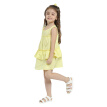 Girls Summer Dress 2018 New Arrival Casual Style Mini Loose Ruffles Patchwork Girl Party Dresses Cotton O-neck Sleeveless