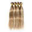 "Nami Hair Piano Color 3 Bundles #8/613 Brazilian Human Straight Hair Extensions 14""-26"" Hair Weave Free Shipping"