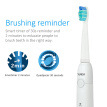 Sonic Electric Toothbrush Replaceable Brush Heads USB Rechargeable Effective Clean Teeth Whitening