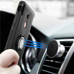 Xiaomi Note 3/4x/5a Armor Car Magnetic Suction Ring Bracket Silicon TPU Hard PC Phone Case