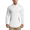 MECH-ENG Men's Sweatshirt Hoodie Active Hoodie Workout  SweatshirtTraining Sports Pullover With Zipper Pockets in 5 Colors
