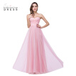 Babyonlinedress Bridesmaid Dress In stock Pink Strapless A line Long Evening Dresses 2018 Cheap Evening Gown Party Dresses