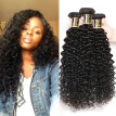 YAVIDA Hair Malaysian Virgin Hair Weave 3 Bundles Malaysian Curly Hair Afro Kinky Curly Human Hair Extension