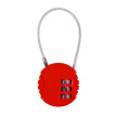 Companion line steel code lock travel business trip anti-theft luggage lock backpack padlock gym lock mini drawer lock red BL4001