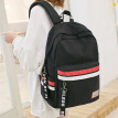 Light rider bag female Japanese and Korean version of junior high school students college wind campus backpack men and women trend computer backpack 3175 black