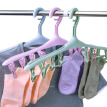 Pinmai clothespin windproof belt clip plastic hanger clothes hanging plastic clothes underwear socks drying rack 8 clip 3 group