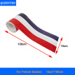 15cm*100cm German France Italy Flag 3 Colors Stripe Decal Bumper Car Body Stickers Auto Accessories