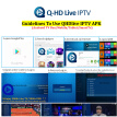 Q-HD IPTV 2800+ Live 3000+VOD Europe IPTV M3U Enigam2 Android Italy French Arabic German Spain UK for TV Box H96 X96