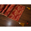 Thick Tablerunner Europe Wine Red 2018 Wave Wedding Table Runner cloth Luxury Embroidery Room Sofa Home Hotel Bedding Decoration