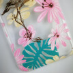 Protect Phone Case for iPhone 6 6S 7 7plus 8 8plus Flower Flamingos Design Case for iPhone X