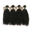 YAVIDA Hair Malaysia Curly Hair Weave 4 Bundles Malaysian Kinky Curly Virgin Hair Extension Afro Kinky Curly Weave Human Hair