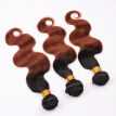 Ombre Cheap Black Weft Body Wave Brazilian Hair Bundles for Sale 8A Best Quality Real Virgin Hair Extension 5 Pcs DHL Free Ship
