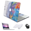 Laptop Skin For Macbook Air/pro 11 12 13 15 Retina Sticker Cover Pro 13/15 Touch Bar Cases and Screen Protector Film 4 in 1 Set
