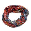 loop scarf women for scarves flower printed infinity scarf shawls and wraps for lady hijab ring circle  50x175cm