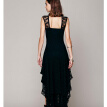 Buenos Ninos Irregular Long Dress Lace Hollow out Summer Vestidos