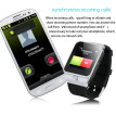 Elegance Dual mode bluetooth smartwatch phone with SIM card mode pedometer call message camera TF card slot music play