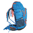 Pathfinder (TOREAD) backpack men and women outdoor hiking backpack bag backpack 50 liters large capacity multi-function backpack ZEBF80613-C05X lake blue