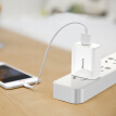 Baseus 2A Fast Charging Head Travel Charger/Head White for iPhone X/8/7P/6/6P/6/SE Samsung/Huawei/Xiaomi/HTC White