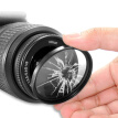 52mm Digital Camera Aluminum Alloy Frame Lens UV Filter(Black)