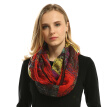 Infinity Scarf New Fashion women scarves plaid Print Ring Scarfs Loop stole 2018 JeouLy