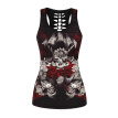 2018 Skull  Womens Tank Tops Fashion Print Women 3D Vest Top Camisole Tank Women's