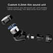 IPX7 Waterproof Bluetooth 5.0 Earphone Touch Control Wireless Earbuds Langsdom F8 TWS Wireless Headset for iphone Siri Remote