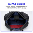 Bopai Bopai Briefcase Men's Messenger Bag Business Canvas Travel Bag Korean Handbag Black 732-007311