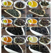 35 Different Flavors Chinese Tea including Oolong Puer Black Green Herbal Flower Tea Food Gift 209.2g