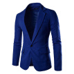England Style Blazer Men Casual Jacket Business Suit Formal Dress