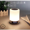 Bluetooth Speaker Lamp, Smart Touch Control Dimmable Color Lamp for Bedroom Sleeping Aid, Best Gift for Kids, Teens and Adults