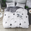 Jane bedcloth set sheets quilt cover four sets of cotton simple 1.5/1.8 m bed cotton thickening (quilt cover 200*230) one meter sunshine