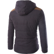 Zogaa New Men's Cotton-padded Clothes Thickened Warm Fashion Hooded Coat