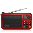 Arista (EARISE) T33 Radio MP3 Card Speaker Portable Mini Music Player Emergent Old Audio Square Dance Old Walkman China Red