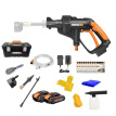 WORX 20V lithium battery high voltage household wireless cleaning machine WG629E.3 high pressure rechargeable water gun cleaning machine portable water pump brushing power tools