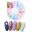 Horse Eyes Glitter Oval Candy Colors Nail Art Decoration DIY Crystal Gems Rhinestone Nail Jewelry 3D Nail Art Decoration Stones