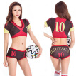 World Cup 2018 Free Size Football Girl Dress Cheerleader Wears Night Club DS Costume Germany France England