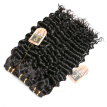 YAVIDA Hair Brazilian Curly Virgin Hair 3 Bundles Brazilian Deep wave 7A Unprocessed Virgin Hair Brazilian Deep Wavy Human Hair We
