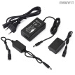 NP-FZ100 AC Power Adapter Charger kit + NP-FZ100 DC Power Supply kit, Sony NPFZ100 Battery Replacement for Sony Alpha 9 A9 Alpha
